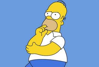 """Homero: """"Bueno, tiene todo el dinero del mundo, pero hay algo q no puede comprar,,,"""""""