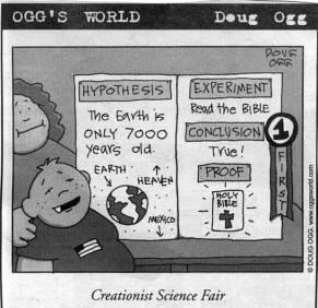 Feria Científica creacionista
