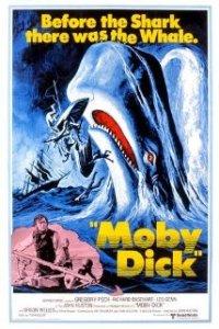 Poster original de la película Moby Dick
