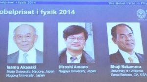 Anuncio de ganadores del Nobel de Física 2014