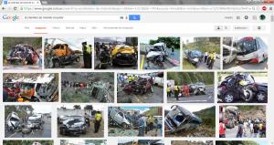 Resultados de una Búsqueda de Imágenes: Accidentes tránsito en Ecuador.