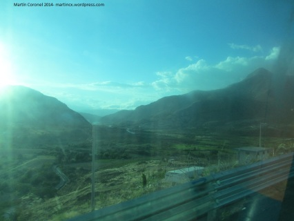 Amanecer en el valle del Chota. Martín Coronel